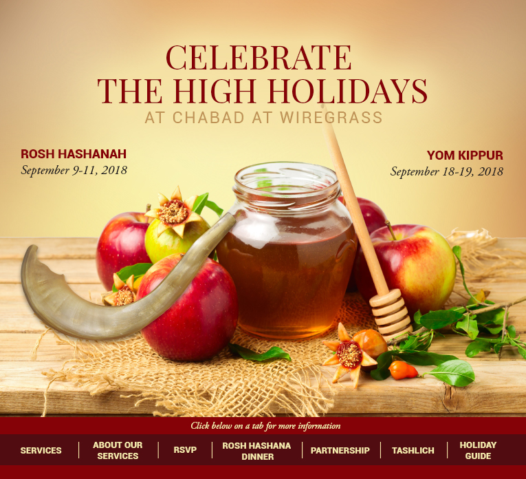 High Holidays 5779 - Chabad at Wiregrass